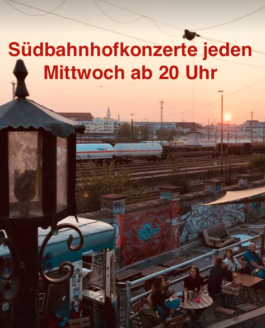 Südbahnhofkonzerte September